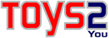 Logo da Toys2You - loja de miniaturas online, action figure, kits para montar - produtos Kyosho