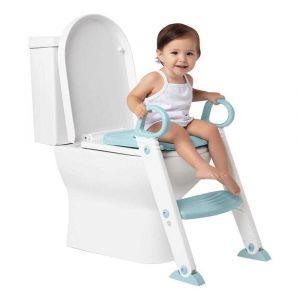 Assento Redutor Infantil com Escada Azul Buba
