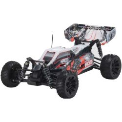 Automodelo Kyosho 1:10 Rc Ep Rs Racing Buggy Dirt Hog Laranja Rádio Kt231P Bateria Carregador