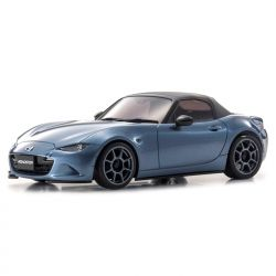 Automodelo Kyosho 1:27 Rc Ep Mini-Z Awd Sports Ma-020S Rs Mazda Roadster Azul Rádio Kt19