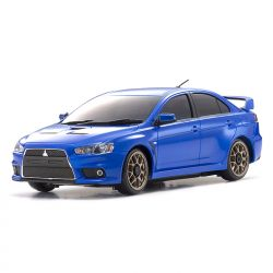 Automodelo Kyosho 1:27 Rc Ep Mini-Z Awd Sports Ma-020S Rs Mitsubishi Lancer Azul Rádio Kt19