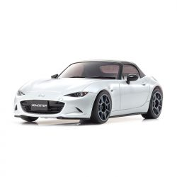 Automodelo Kyosho 1:27 Rc Ep Mini-Z Racer Sports2 Mr-03 Mazda Roadster Prata Rádio Kt19