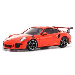 Automodelo Kyosho 1:27 Rc Ep Mini-Z Racer Sports2 Mr-03 Porsche 911 Gt3 Rs Laranj Rádio Kt19