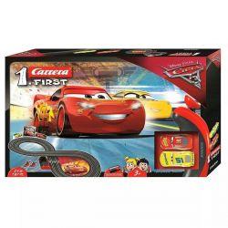 Autorama Pista Elétrica Filme Carros Disney 2,4m Carrera