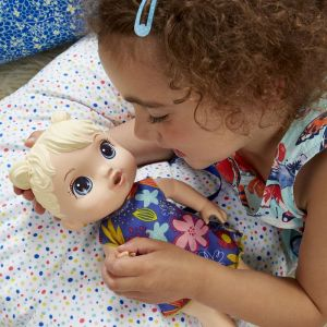 Boneca Baby Alive Bebê Primeiros Sons Loira Hasbro