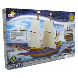 Blocos de Montar Caravela The Mayflower Cobi