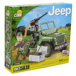 Blocos de Montar Jeep Willys Militar MB Cobi