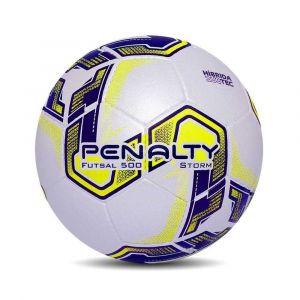 Bola de Futsal 500 Storm Costurada a Mão Penalty