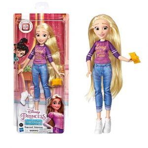 Boneca Articulada Princesas Disney Rapunzel 30cm Detona Ralph Comfy Squad Hasbro
