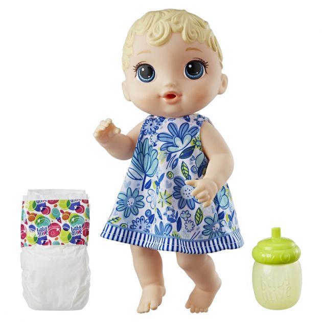 Boneca Baby Alive Hora Do Xixi Loira Hasbro