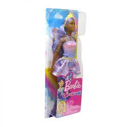 Boneca Barbie Dreamtopia Fada Cabelo Roxo Original Mattel