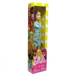 Boneca Barbie Fashion Básica Coleção Vestido Verde Mattel