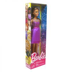 Boneca Barbie Glitter Vestido Roxo Mattel