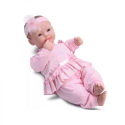 Boneca Bebê Real Lacinho Coleção Fala E Chora C Divertoys
