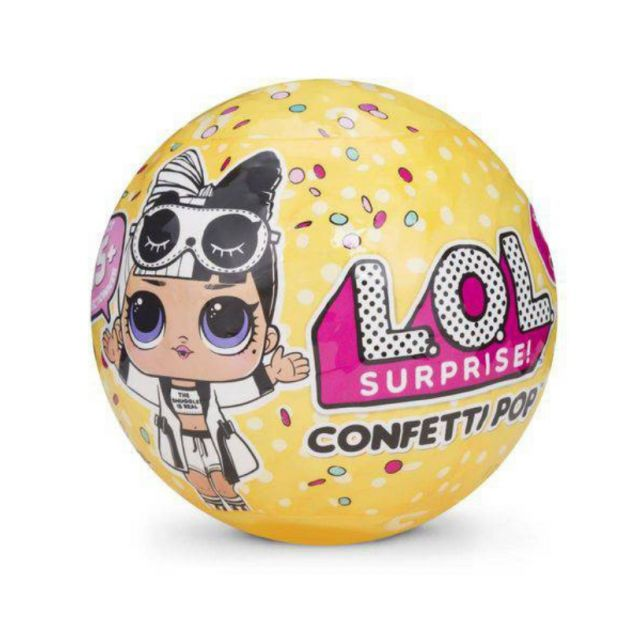 Boneca Lol Surpresa Confetti Pop Serie 3 Candide