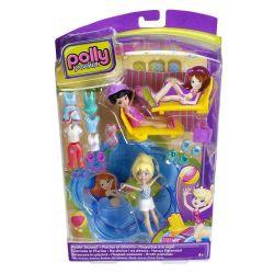 Boneca Polly Pocket Estações Diversão na Piscina Original Mattel