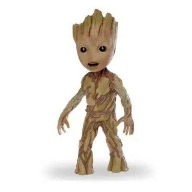Boneco Articulado Baby Groot Guardiões da Galáxia 45cm Mimo