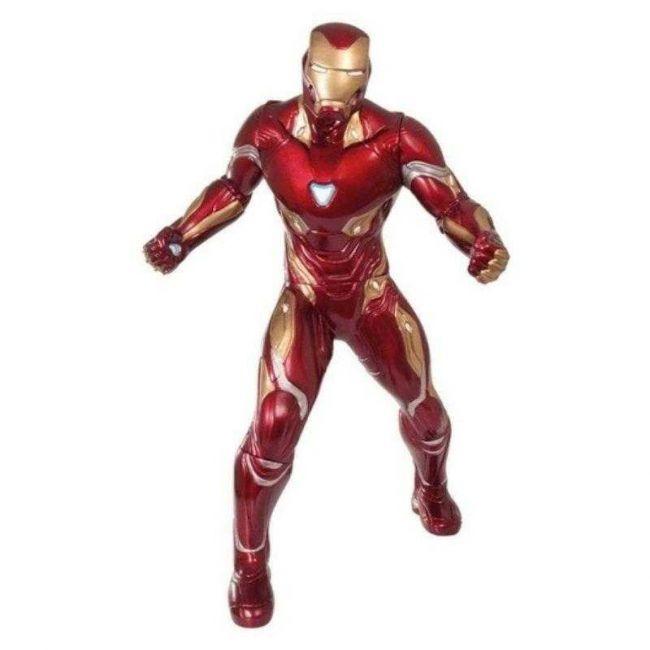 Boneco Articulado Homem de Ferro Filme Vingadores Guerra Infinita Marvel 50cm Mimo