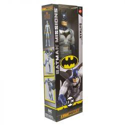Boneco Batman com Armadura Missions Dc 30cm Articulado Mattel