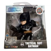 Boneco Batman Tactical Suit Liga Dc Comics 6 Cm Metals Die Cast Jada Toys