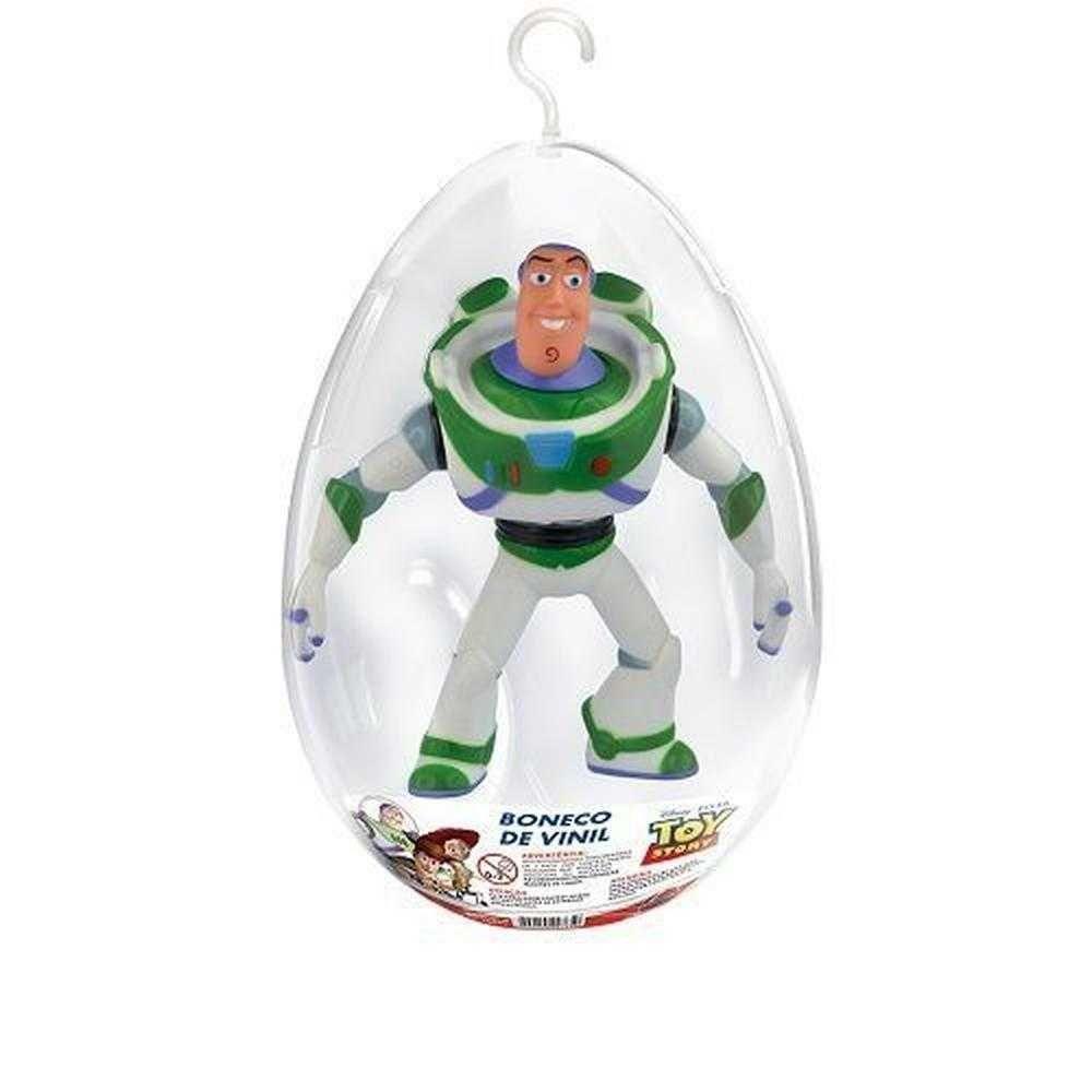 Boneco Buzz Lightyear no Ovo Coleção Toy Story Disney Lider