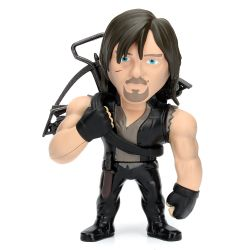Boneco Daryl Dixon The Walking Dead 10 Cm Metals Die Cast Jada Toys
