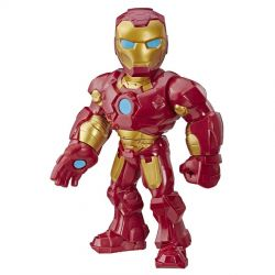 Boneco Homem de Ferro 25cm Playskool Heroes Mega Mighties Figura Marvel Hasbro