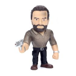 Boneco Rick Grimes The Walking Dead 10 Cm Metals Die Cast Jada Toys