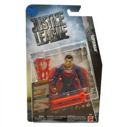 Boneco Super Homen Liga Da Justiça Articulado 15 cm Acessório Laranja Mattel