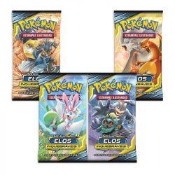 Booster Unitário Sol e Lua 10 Elos Inquebráveis Pokémon - Copag