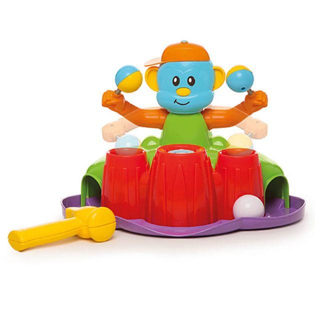 Brinquedo Bate Bate Com Som Colorido Calesita