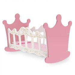 Brinquedo Berço em Madeira Boneca Infantil Princesas - Junges