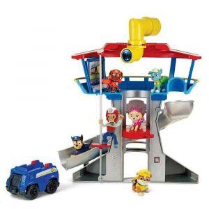 Patrulha Canina Torre de Vigilância Central de Comando Brinquedo Sunny