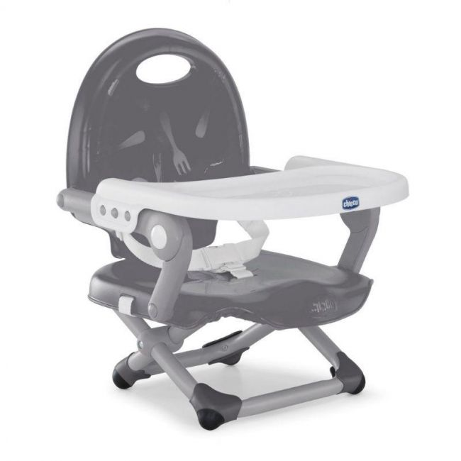 Cadeira para Bebê Refeição Alimentação Portátil Cinza Chicco