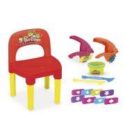 Cadeira para Mesa Infantil Playdoh com Massinha e Acessórios Monte Líbano