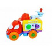 Caminhão Bombeiro De Atividades Diver For Baby Divertoys