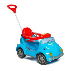 Carrinho De Passeio Pedal Empurrador 1300 Fouks Azul  Calesita