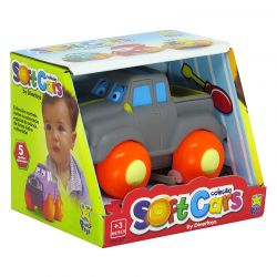 Carros Soft Cars Pick Up Cinza Divertoys