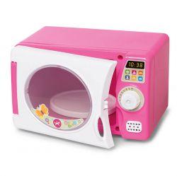 Casinha Microondas Rosa De Brinquedo Com Som Calesita