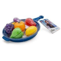 Conjunto de Atividades Jogo de Cozinha Frutas Frigideira Azul Disney Frozen 2 - Toyng