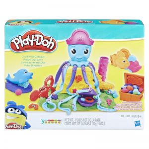 Conjunto de Massinha Play Doh Polvo Divertido - Hasbro