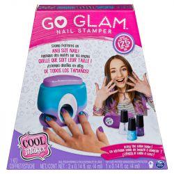 Conjunto Pintura de Unhas Go Glam Nail Stamper - Sunny