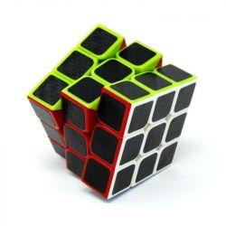 Cubo Mágico Profissional 3x3 Fellow Cube Color Carbon