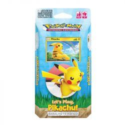 Deck Pokémon Baralho Temático Let's Play Pikachu - Copag