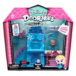 Disney Doorables Playset Castelo de Gelo Frozen Dtc