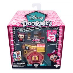 Disney Doorables Playset Navio Pirata do Capitão Gancho Dtc