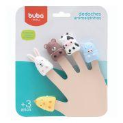 Fantoches de Dedos Dedoches de Animaizinhos para Banho Buba