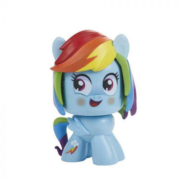 Figura de Ação Mighty Muggs My Little Pony Rainbow Dash - Hasbro