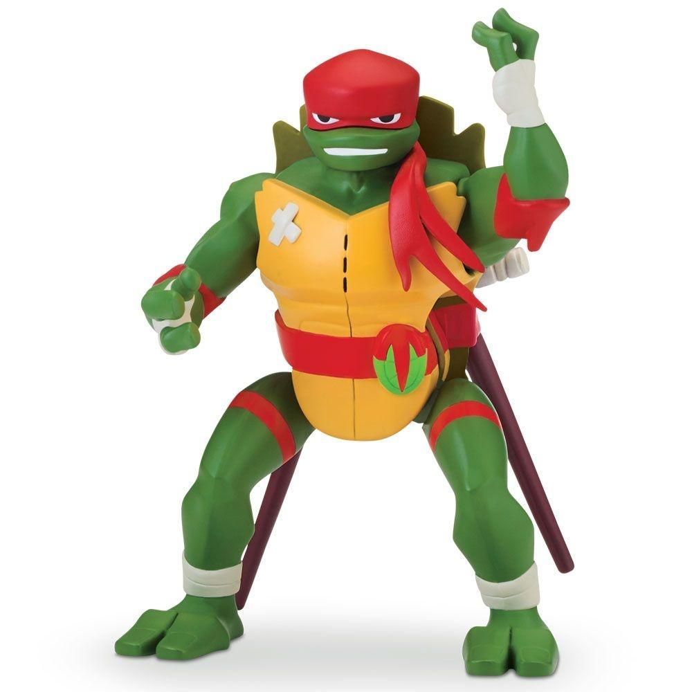 Figura De Acao O Despertar Das Tartarugas Ninja Raphael Casco De