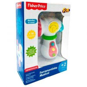 Fisher-Price Ferramentinha luz e som Martelo Fun